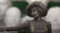 Work commences of Emmeline Pankhurst statue in Sussex