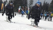 North Korean Paralympic skiers dream of glory