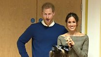 Prince Harry and Meghan's day in Cardiff
