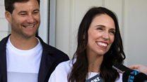 New Zealand PM's 'unusual' announcement