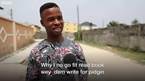 You fit read book wey dem write for pidgin?