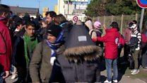Child refugees heading to the UK
