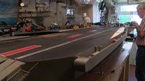 Ark Royal model started in 1992 still not ready