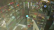 Watch: Mayhem in shop after fatal stabbing