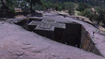 အီသီယိုးပီးယားက ကျောက်သား ဘုရားရှိခိုးကျောင်းများ