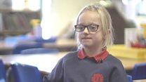 The deaf six-year-old hoping for an Oscar