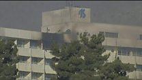 Напад на готель в Кабулі: люди тікають через вікна