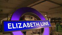 Watch: Installing the first Elizabeth line roundels