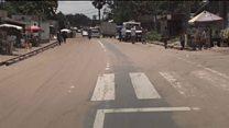 Kinshasa's 'vanishing' road