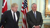 تفاهم بر سر برنامه موشکی ایران در دیدار وزیران خارجه آمریکا و بریتانیا