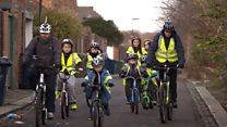 Heaton Goonies get on their bikes