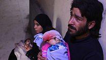 """El drama de los niños atrapados en Ghouta oriental, """"el epicentro del sufrimiento en Siria"""""""