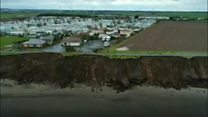 Cliff residents fearful of erosion risk