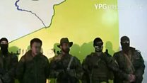 Volunteer fighters 'prepared' by YPG