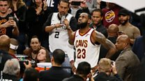 LeBron James jadi pemain NBA termuda yang cetak 30.000 angka