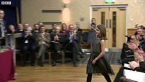 Girl, 11, given bravery award for chasing burglar