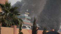 Forces rush to respond to Afghan attack