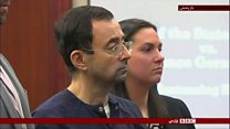 حکم ۱۷۵ سال زندان برای پزشک سابق تیم المپیک دختران ژیمناست آمریکا