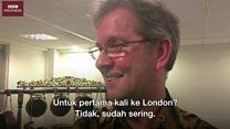'Makanan di Solo lebih enak dibanding Malang,' kata guru gamelan Inggris, Peter Smith