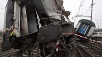 Deadly train crash in Italy's rush hour