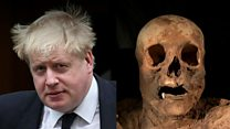 Boris and the tale of the ancient mummy