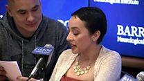 Las Vegas survivor's amazing recovery
