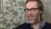 Stephen Merchant visits Bristol Hospice