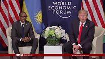Donald Trump à Davos