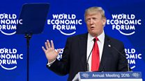 What we learned from Trump's Davos speech