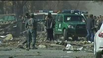 Aftermath of deadly Kabul bomb blast