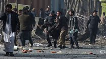 Kabul suicide attack 'like a butcher house'