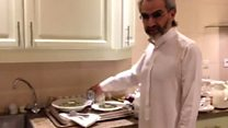 Saudi prince gives tour of luxury 'jail'