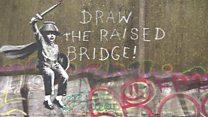 Calls to 'clean off' Banksy mural