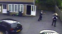 Vulnerable man 'saved' by Taser CCTV
