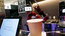 ร้านกาแฟหุ่นยนต์แห่งแรกในญี่ปุ่น