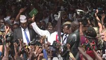 Kenya's Raila Odinga 'inaugurates' himself as president