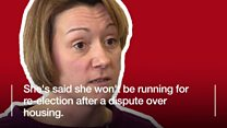 Why did a council leader just quit?