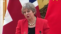 How will May respond to critics?