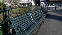 Campaigners hit out at anti-homeless benches