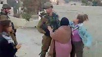 سیلی زدن یک دختر فلسطینی به یک سرباز؛ ماجرا چیست؟