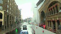 Watch: The London Bridge station ''geyser''