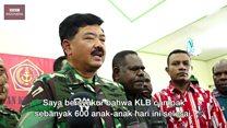 Krisis kesehatan di Asmat: Panglima TNI klaim wabah campak 'berhasil diatasi'