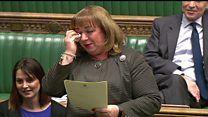 MP's tears over stillborn daughter