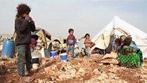 Idlib မှာ လူမှုဒုက္ခတွေ ရင်ဆိုင်နေရ