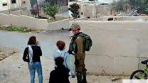 အစ္စရေးစစ်သားကို ပါးရိုက်ခဲ့တဲ့ ပါလက်စတိုင်း မိန်းကလေး