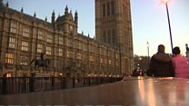What's happening with the Westminster sexual harassment report?