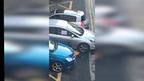 Sinn Féin MLA filmed removing car clamp