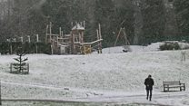 Wintry conditions as cold spell hits UK