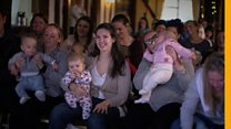 Comedy show welcomes screaming babies