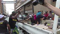 Zuma and Ramaphosa supporters clash in SA